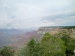 Första anblicken av canyonen