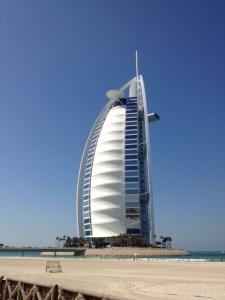 7-stjärniga Burj al Arab
